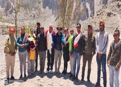 नेपाली कांग्रेसको राष्ट्रिय जागरण अभियान माथिल्लो मनाङमा