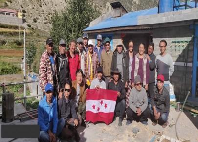 माथिल्लो मनाङमा नेपाली कांग्रेस जागरण अभियानको शुरुवात