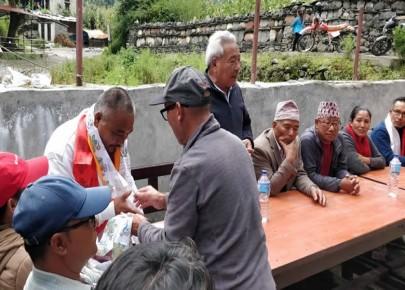 नेपाली कांग्रेस मनाङको कृयाशिलता बढ्दै