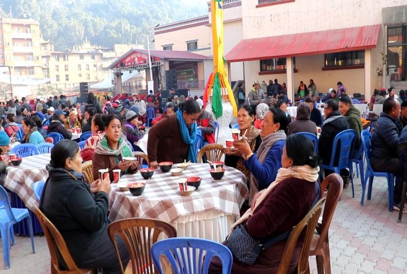 मनाङको होल्तङ्पा ल्होसार काठमाडौंमा भव्यता साथ मनाईदै