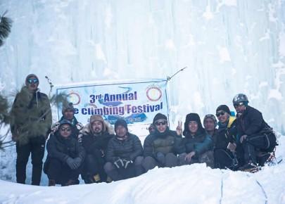 हिउदमा पनि मनाङमा पर्यटक भित्र्याउने प्रयास जारी