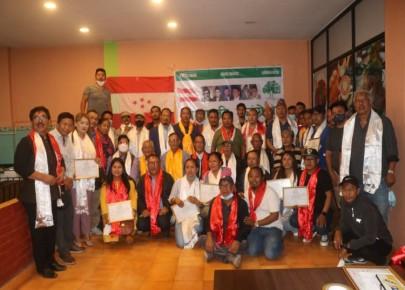 नेपाली काँग्रेस मनाङको जिल्ला अधिवेशन सम्पन्न