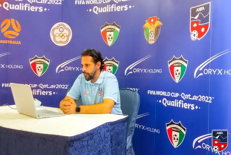 राष्ट्रिय फुटबलका मुख्य प्रशिक्षक अब्दुल्लाह अल्मुताइरीद्वारा राजीनामाको घोषणा